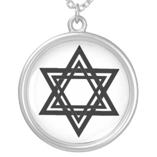 Star of David, Jewish Star Necklace
