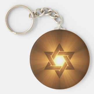 Star of David Keychain