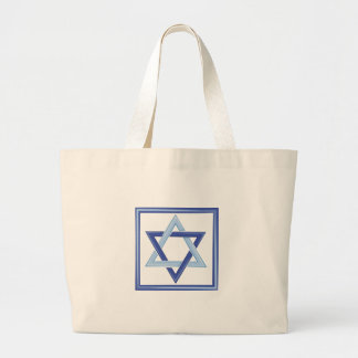 Star Of David Large Tote Bag