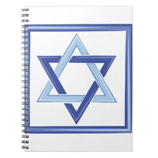 Star Of David Note Book