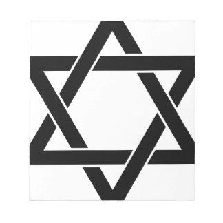 star of David Notepad