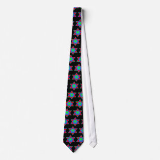 Star of David Paint Tie