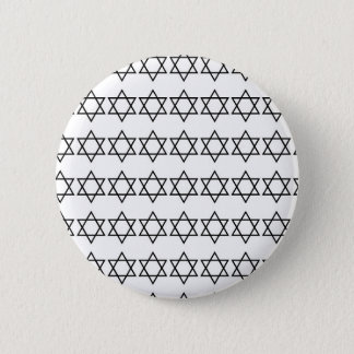 Star Of David pattern 2 Inch Round Button