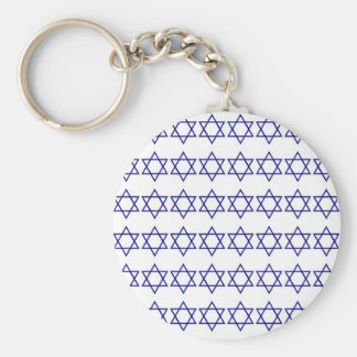 Star of David pattern Keychain