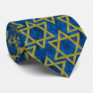 Star of David Pattern Ties. Tie