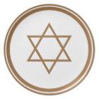 Star of David Plate