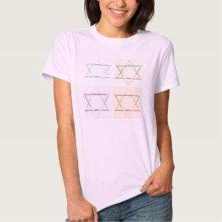 Star of David pop art Shirts