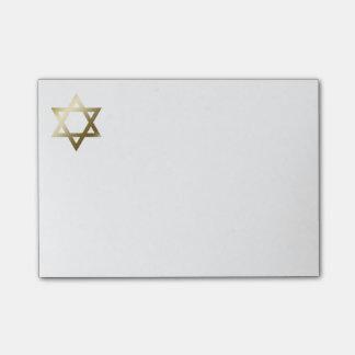 Star of David Post-it Notes