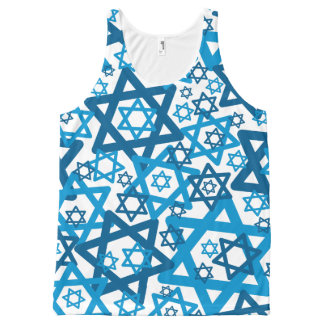 Star of David Random All-Over-Print Tank Top