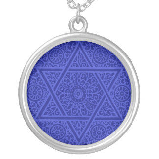 Star of David Scrollwork Necklace