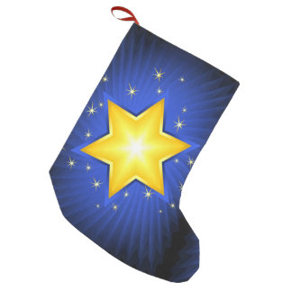 Star of David Small Christmas Stocking