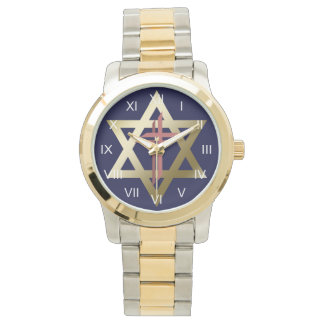 Star of David With Cross Watch