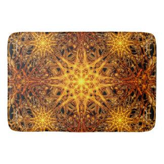 Star of Fire Bathroom Mat