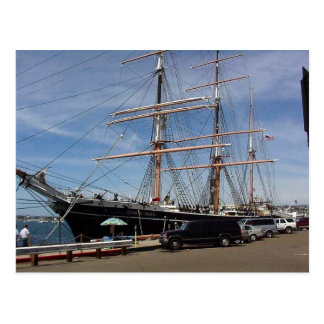 Star Of India At The San Diego Maritime Museum Postcard