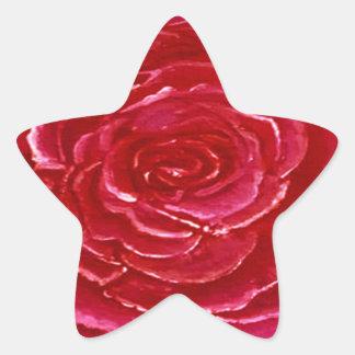 Star of Rose Sticker