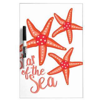Star Of Sea Dry Erase Whiteboards