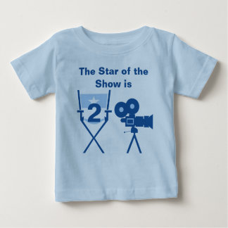 Star of Show Customizable Birthday T-shirt