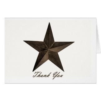 Star of Texas Card