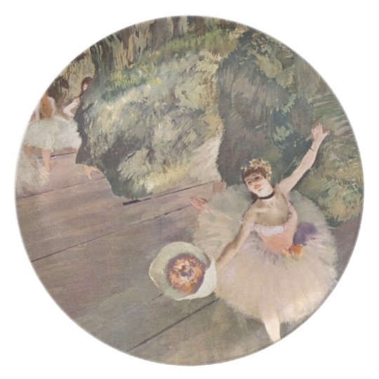 Star of the Ballet, Degas Plate