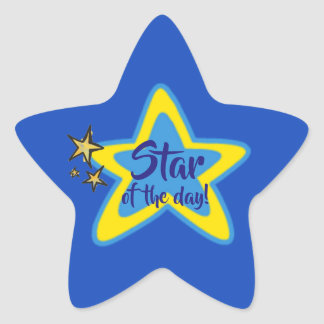 Star of the Day Student Stickers