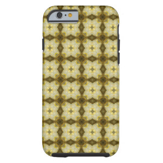 Star of the East Mustard Dutch Rose and Diamonds Tough iPhone 6 Case