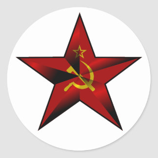 Star_of_the_Soviet_Union Classic Round Sticker