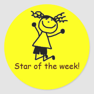 Star of the week sticker