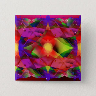 Star of Wonder 2 Inch Square Button