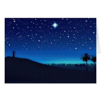 Star Over Bethlehem Christmas Card