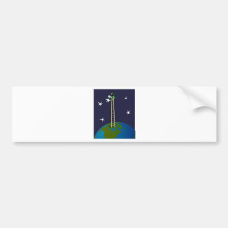 Star Painter Bumper Sticker