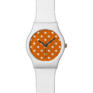 Star Pattern Cool Trendy Simple Modern Stars Watch