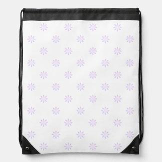 Star Pattern Drawstring Bag