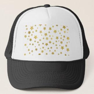 Star Pattern Trucker Hat