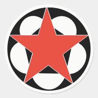 Star Pentagon Sticker