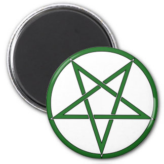 Star Pentagram Five 5 Pointed Symbol Classic Comic 2 Inch Round Magnet