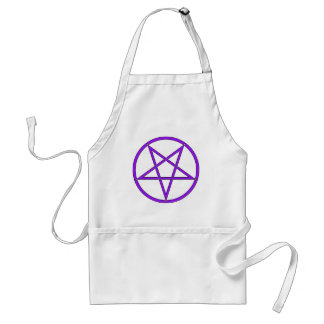 Star Pentagram Five 5 Pointed Symbol Classic Comic Standard Apron