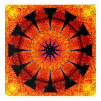 Star Portal Mandala Acrylic Wall Art