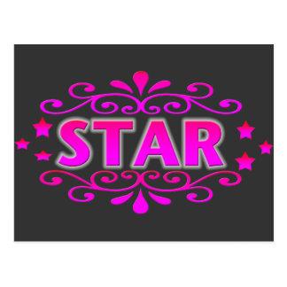 Star Postcard