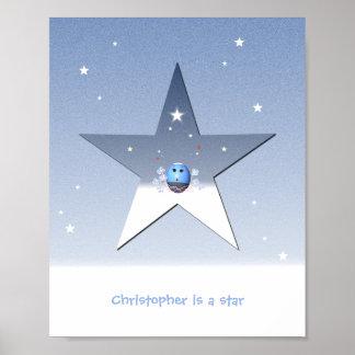 Star Poster for Children