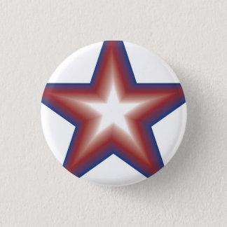Star Power 1 Inch Round Button