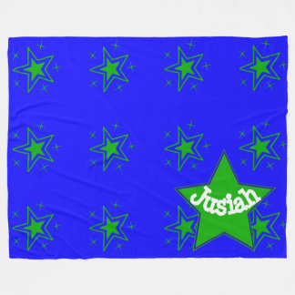 Star Power Blanket! Customizable Fleece Blanket