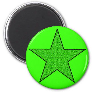 Star Power (Dots) 2 Inch Round Magnet