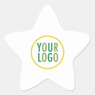 Star Promotional Stickers Company Logo Low Minimum