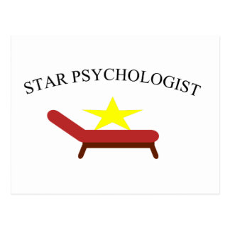 star psychologist postcard