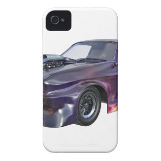 Star Purple Racing Car Case-Mate iPhone 4 Case