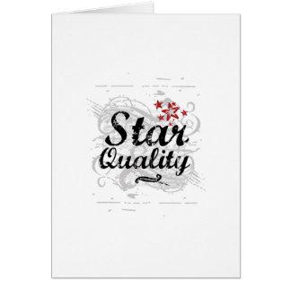 Star Quality Card
