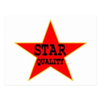 Star Quality Postcard