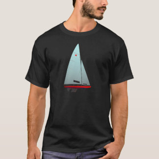 star  Racing Sailboat onedesign Olympic Class T-Shirt