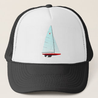 star  Racing Sailboat onedesign Olympic Class Trucker Hat