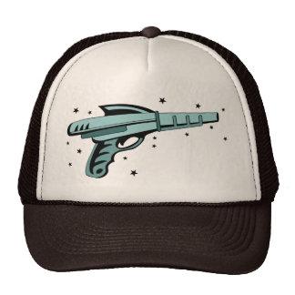 Star Ray Gun Laser Pistol Trucker Hat